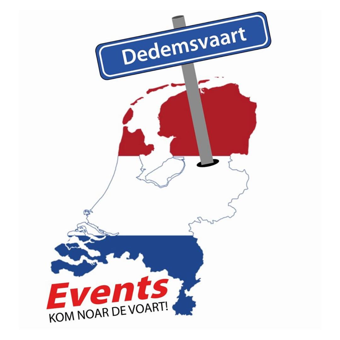 Logo Stichting Dedemsvaart Events | Zet het centrum van Dedemsvaart weer op de kaart